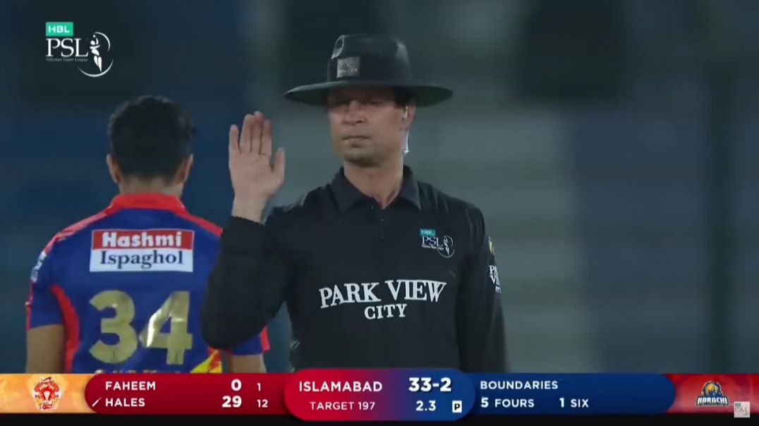 29 Score In One Over - Karachi Kings vs Islamabad United - Match 6 - HBL PSL 6