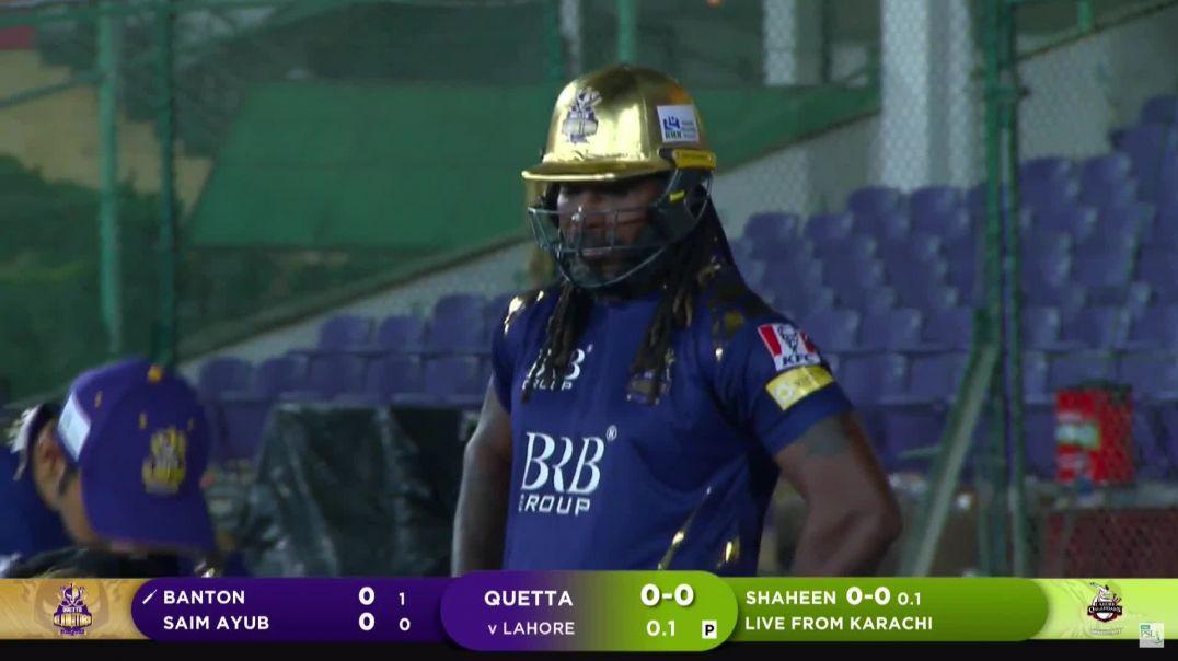 1st Inning Highlights   Lahore Qalandars vs Quetta Gladiators   Match 4   HBL PSL 6