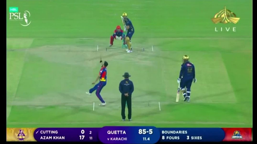 1st Match Highlights - Karachi Kings vs Quetta Gladiators - PSL 6