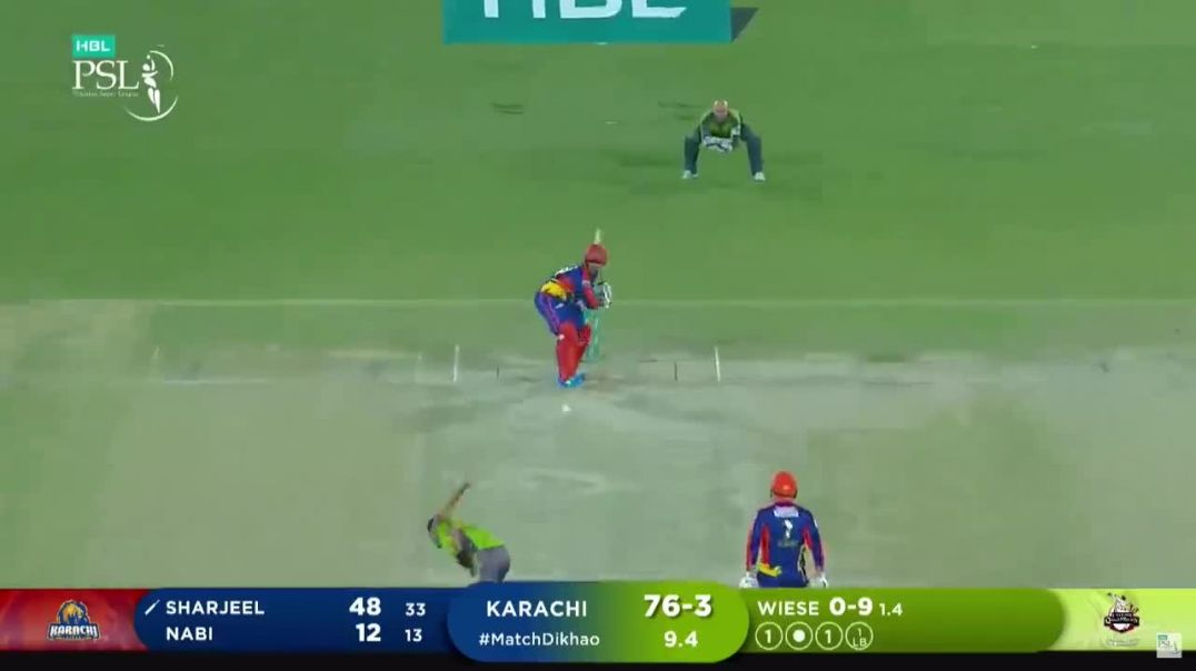 Sharjeel Khan Batting Highlights - Lahore Qalandars vs Karachi Kings - HBL PSL 6 - Match 11