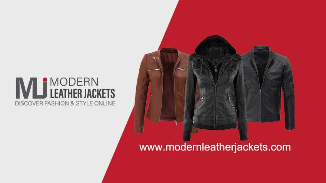 Modern Leather Jackets 15% OFF + Free Shipping
